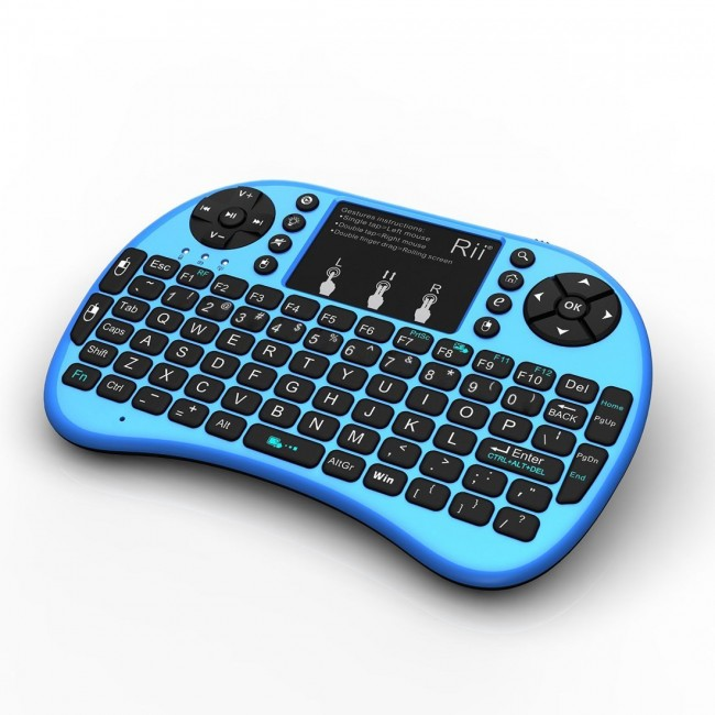 01164c8c5a4 Rii mini i8+ (2.4GHZ RF Wireless Keyboard with Touchpad Mouse ...